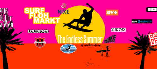 8.10 Surf Flohmarkt / Wakesurf try out / Skate / Drinks / Music