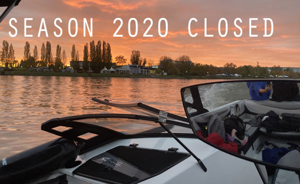 Season 2020 Closed….